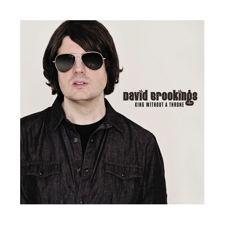 """DAVID BROOKINGS """"King Without A Throne"""" LP"""