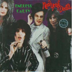 "NEW YORK DOLLS ""Endless Party"" LP 180 Gramos"