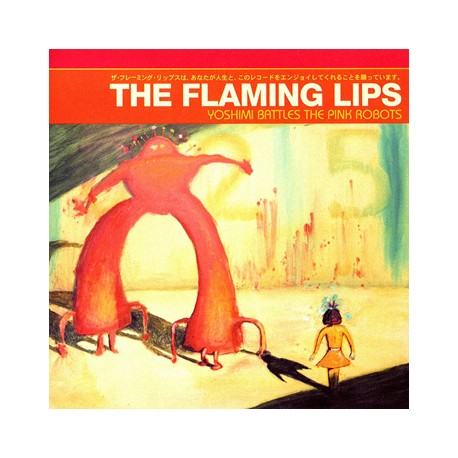 "FLAMING LIPS ""Yoshimi Battles The Pink Robots"" CD"