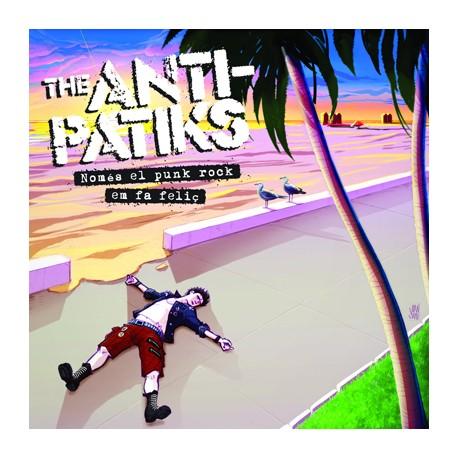 """ANTI-PATIKS """"Només El Punk Rock Em Fa Feliç"""" SG 7"""""""