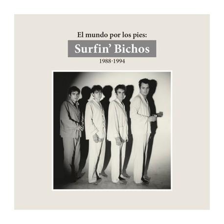 """SURFIN' BICHOS """"El Mundo Por Los Pies: 1988-1994"""" 6CD + DVD"""