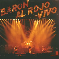 """BARON ROJO """"Barón Al Rojo Vivo"""" 2LP"""