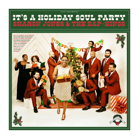 "SHARON JONES & DAP-KINGS ""It's A Holiday Soul Party"" LP Color"