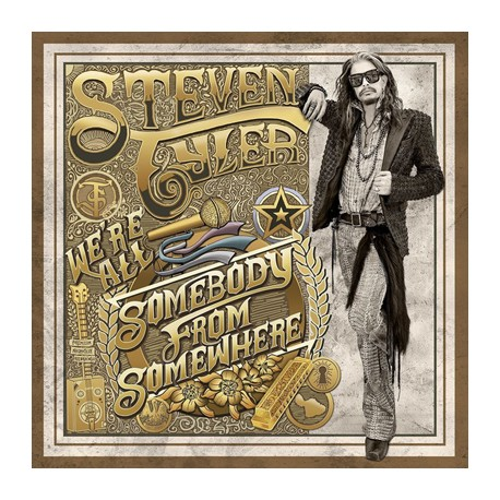 "STEVEN TYLER ""We'Re All Somebody From Somewhere"" 2LP"