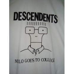 "CAMISETA DESCENDENTS Blanca ""Milo Goes To College"""