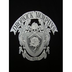 "CAMISETA DROPKICK MURPHYS Negra ""Signed, Sealed, Blood"""