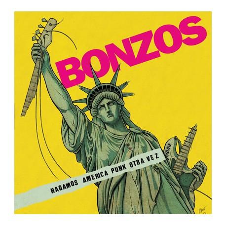 """BONZOS """"Hagamos América Punk Otra Vez"""" LP Color"""