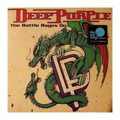 """DEEP PURPLE """"The Battle Rages On..."""" LP 180GR."""