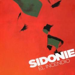 """SIDONIE """"El Incendio"""" LP Color."""