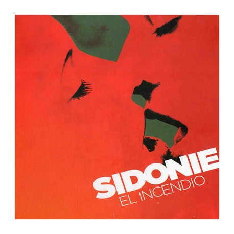 "SIDONIE ""El Incendio"" LP Color."