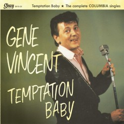"GENE VINCENT ""Temptation Baby - Columbia Singles"" MLP 10"""