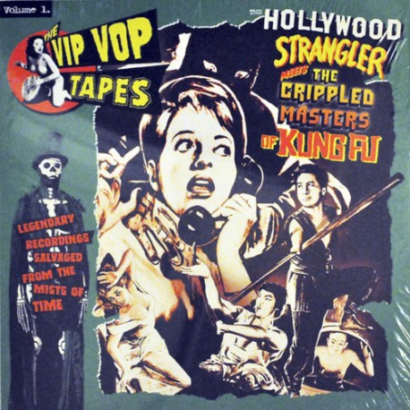 "VV.AA. ""Vip Vop Tapes Vol.1"" LP (Lux Interior)"