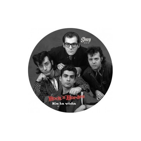 "ROCK'N'BORDES ""Es La Vida"" MLP 10"" Picture Disc"