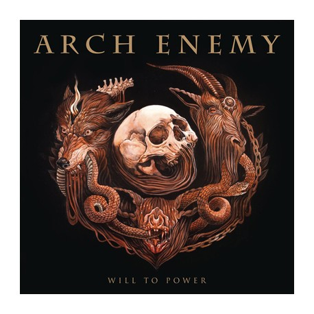 "ARCH ENEMY ""Will To Power"" LP 180GR + CD."