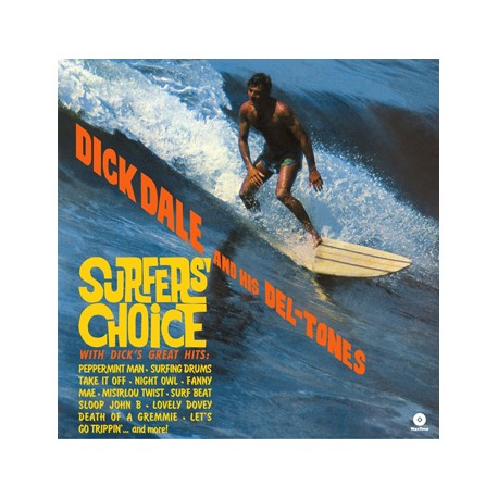 "DICK DALE & HIS DEL-TONES ""Surfer's Choice"" LP + Bonus."