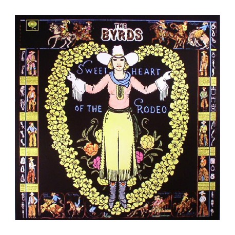 """BYRDS """"Sweetheart Of The Rodeo"""" LP 180GR."""