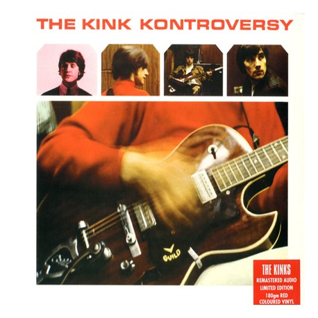 "KINKS ""The Kink Kontroversy"" LP Color."