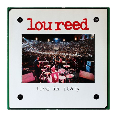 "LOU REED ""Live In Italy"" 2LP"