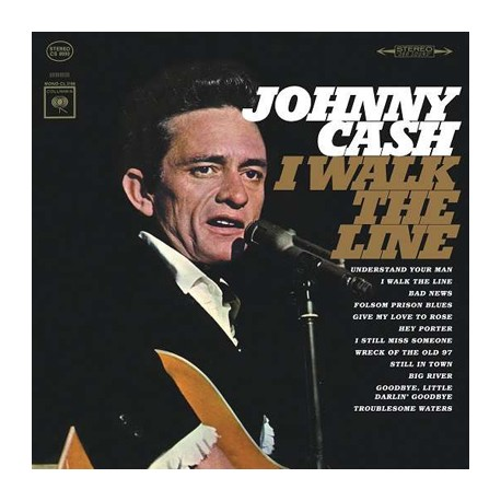 "JOHNNY CASH ""I Walk The Line"" LP"