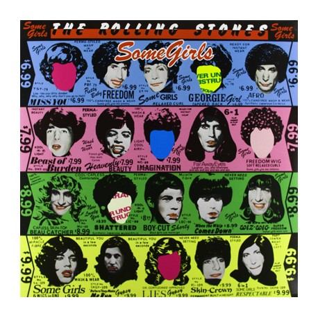 "ROLLING STONES ""Some Girls"" LP 180 Gramos"