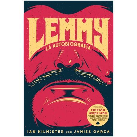 """LEMMY KILMISTER """"La Autobiografía"""" (Edición ampliada) LIBRO Motörhead"""