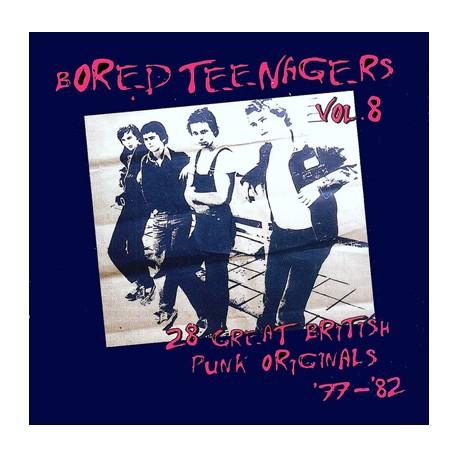 "VV.AA. ""Bored Teenagers Vol.8"" LP + Fanzine."