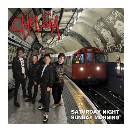 "CHELSEA ""Saturday Night, Sunday Morning"" LP Color."