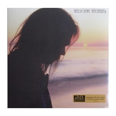 "NEIL YOUNG ""Hitchhiker"" LP Gatefold."