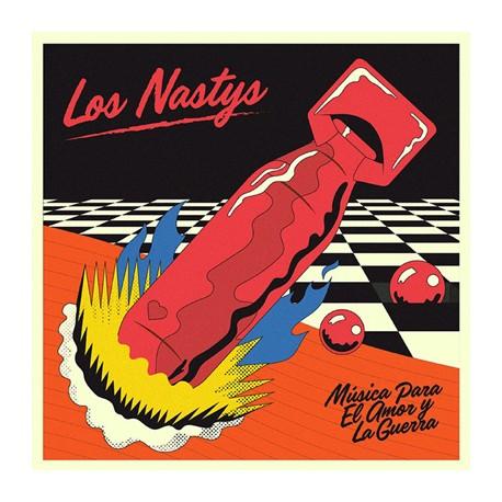 """LOS NASTYS """"Música Para El Amor Y La Guerra"""" LP"""