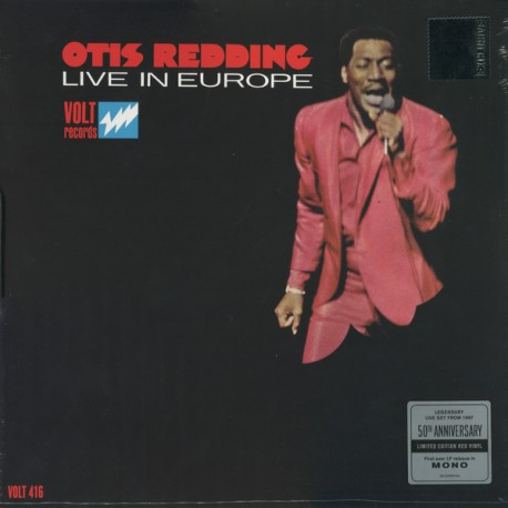 "OTIS REDDING ""Live In Europe"" LP Color RSD2017"