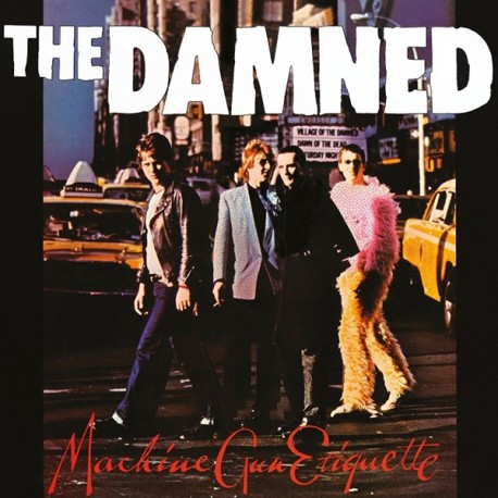 "DAMNED ""Machine Gun Etiquette"" LP"