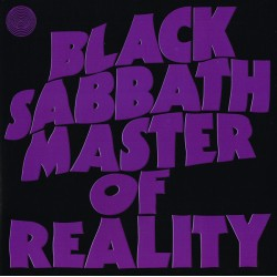 "BLACK SABBATH ""Master Of Reality"" LP."