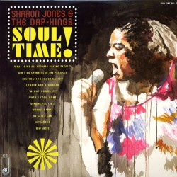 "SHARON JONES & THE DAP-KINGS ""Soul Time!"" LP."