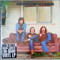 "CROSBY, STILLS & NASH ""Crosby, Stills & Nash"" LP 180GR."
