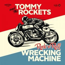 "TOMMY & THE ROCKETS ""R'n'Roll Machine"" SG 7"""