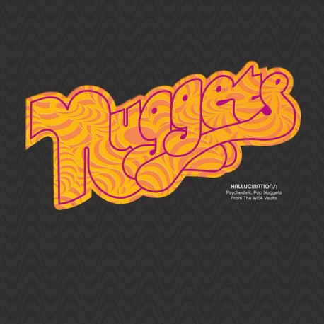 "VV.AA. ""Nuggets: Hallucinations"" 2LP Color RSD"