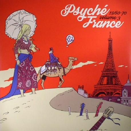 """VV.AA. """"Psyché France Vol.3 1960-1970"""" LP RSD"""