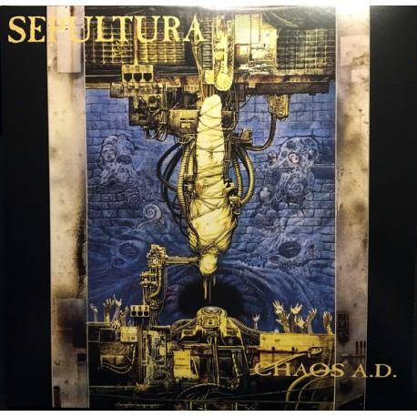 """SEPULTURA """"Chaos A.D."""" 2LP 180GR."""