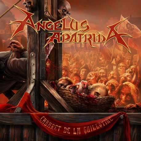 "ANGELUS APATRIDA ""Cabaret De La Guillotine"" LP 180GR + CD."