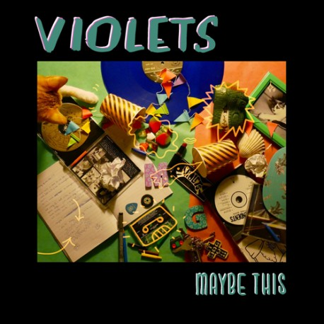 "VIOLETS ""Maybe This"" LP Color H-Records."