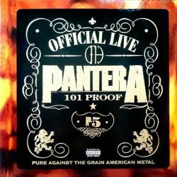 """PANTERA """"Official Live: 101 Proof"""" 2LP."""