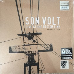 "SON VOLT ""Live At The Bottom Line"" 2LP RSD 2016."