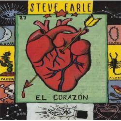 "STEVE EARLE ""El Corazón"" LP RSD 2017."