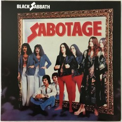 """BLACK SABBATH """"Sabotage"""" LP."""