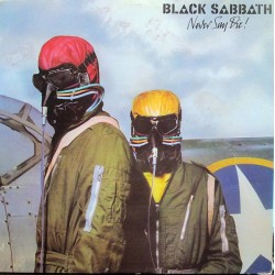 "BLACK SABBATH ""Never Say Die!"" LP."