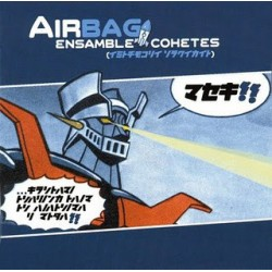 "AIRBAG ""Ensamble Cohetes"" LP Color + CD."