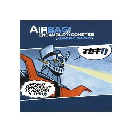 """AIRBAG """"Ensamble Cohetes"""" LP Color + CD."""