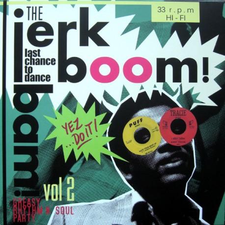 "VV.AA. ""Jerk Boom Bam! Vol. 2"" LP."