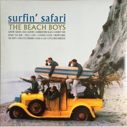 "BEACH BOYS ""Surfin' Safari"" LP Rumble"