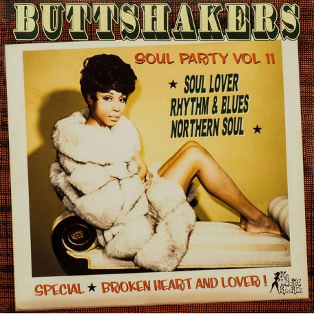 "VV.AA. ""Buttshakers Soul Party Vol. 11"" LP."